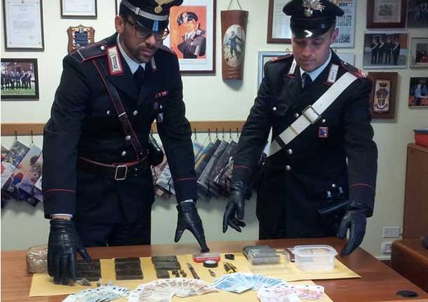 sequestro hashish busto arsizio carabinieri
