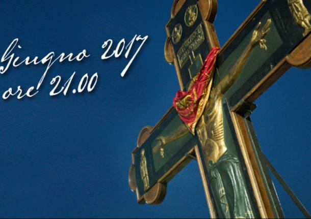 traslazione croce ariberto 2017 legnarello