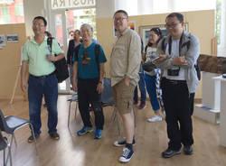 Valceresio - visita delegazione cinese al sito Unesco del Monte San Giorgio