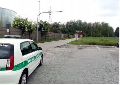 varco controllo targhe via brennero polizia locale olgiate olona