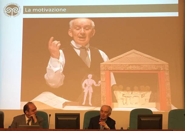 Varese - Giovanni Mongiano all'Insubria