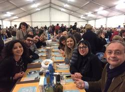 VareseSolidale, la cena in Piazza San Vittore