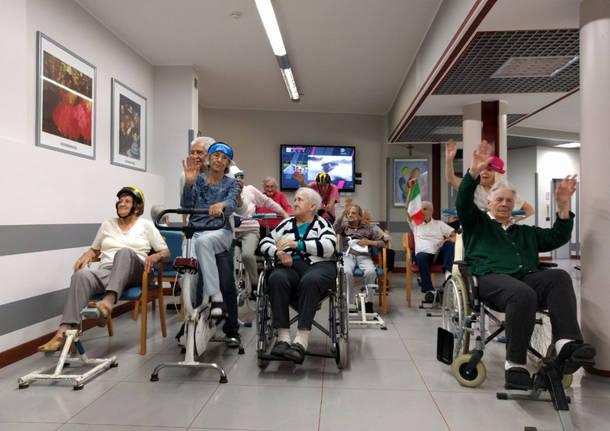 Il Giro d'Italia alla Fondazione Poretti e Magnani di Vedano Olona