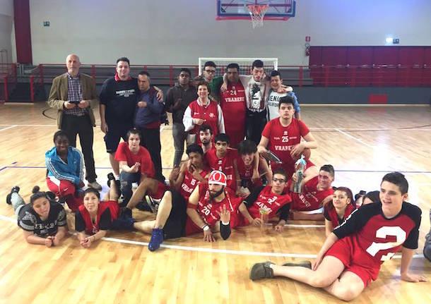 vharese basket disabili 2017