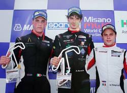 alessio rovera vittoria misano adriatico automobilismo carrera cup