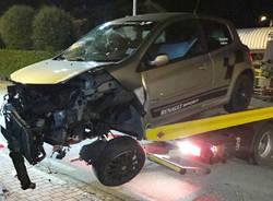 Bisuschio, incidente stradale 18 giugno 2017