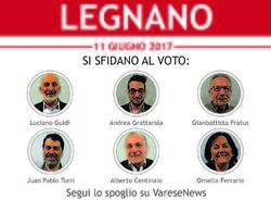 candidati sindaco elezioni amministrative legnano 2017