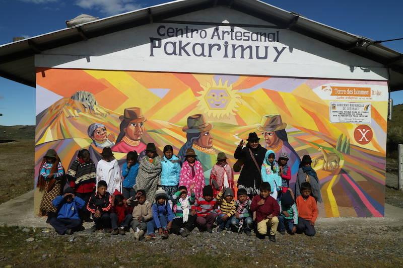Apahua sulle Ande in Ecuador