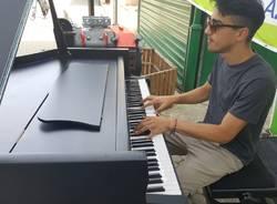 """La musica \""""live\"""" conquista la stazione di Saronno"""
