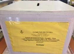 Fusione, le votazioni incorso a Cuvio