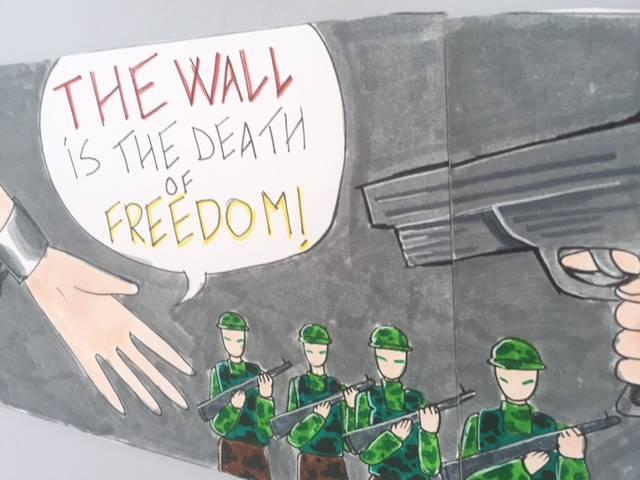 La Resistenza diventa un murales