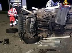 Incidente stradale a Cazzago Brabbia
