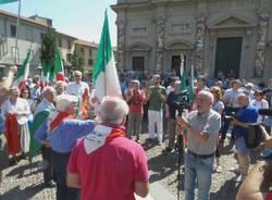 """A Saronno il 2 giugno \""""cancellato\"""" si celebra con un flashmob"""