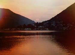 Ceresio al tramonto - foto di Laura Olivas