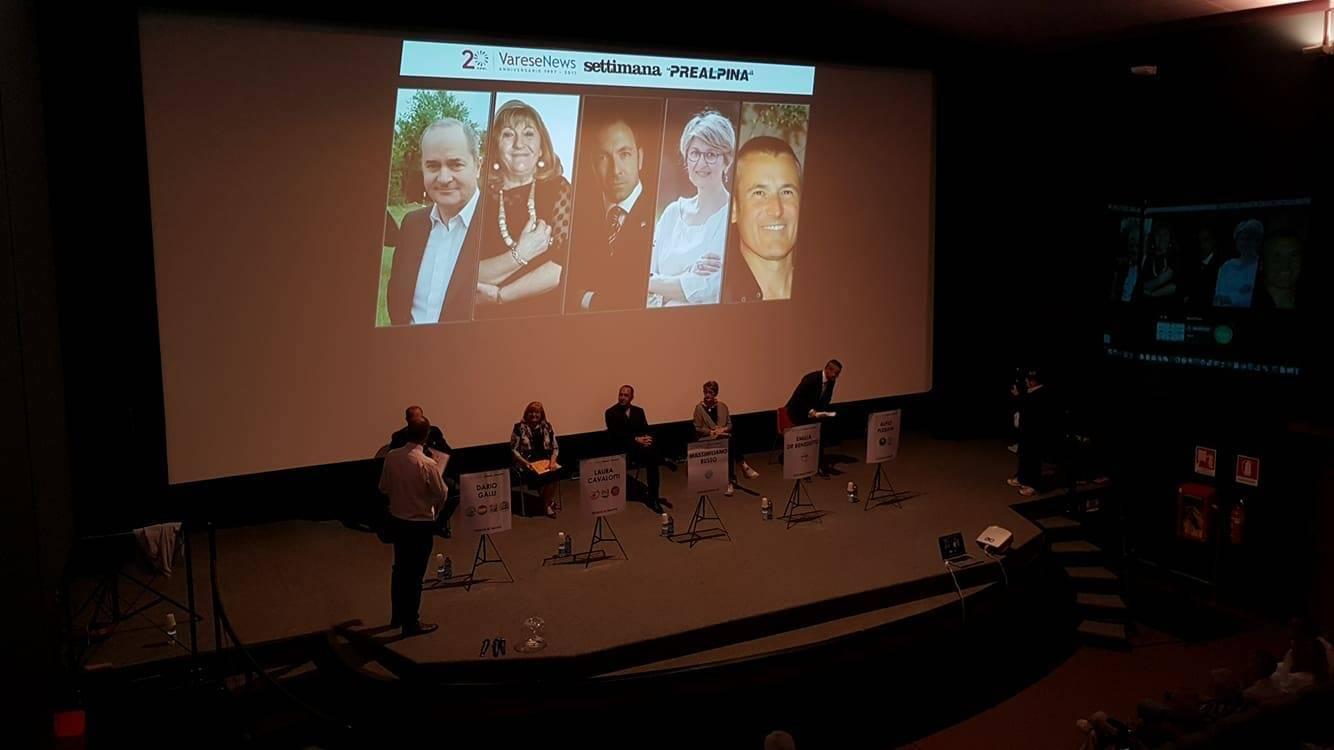 Cinema Grassi gremito per la sfida tra i candidati sindaco