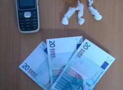 cocaina soldi carabinieri