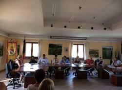 consiglio comunale di bardello con Puggioni sindaco