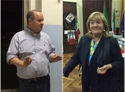 Dario Galli e Laura Cavalotti