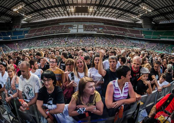 davide van de sfroos concerto san siro milano 9 giugno 2017