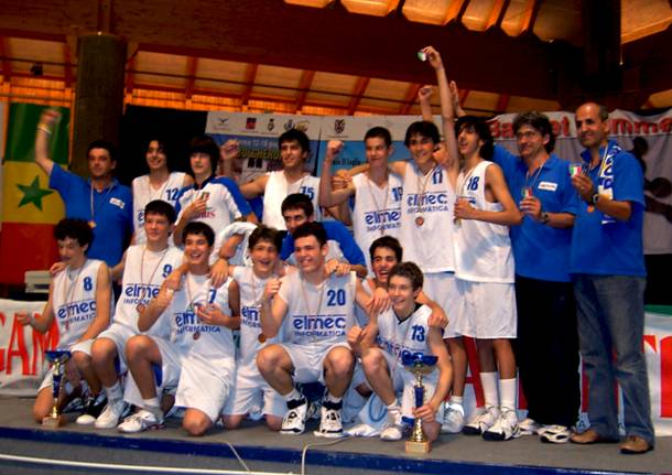 elmec robur scudetto under 14 2007 basket