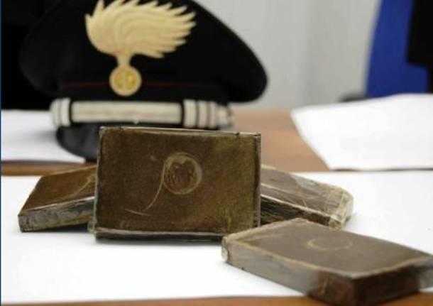 Traffico di droga: arresti anche nel vercellese