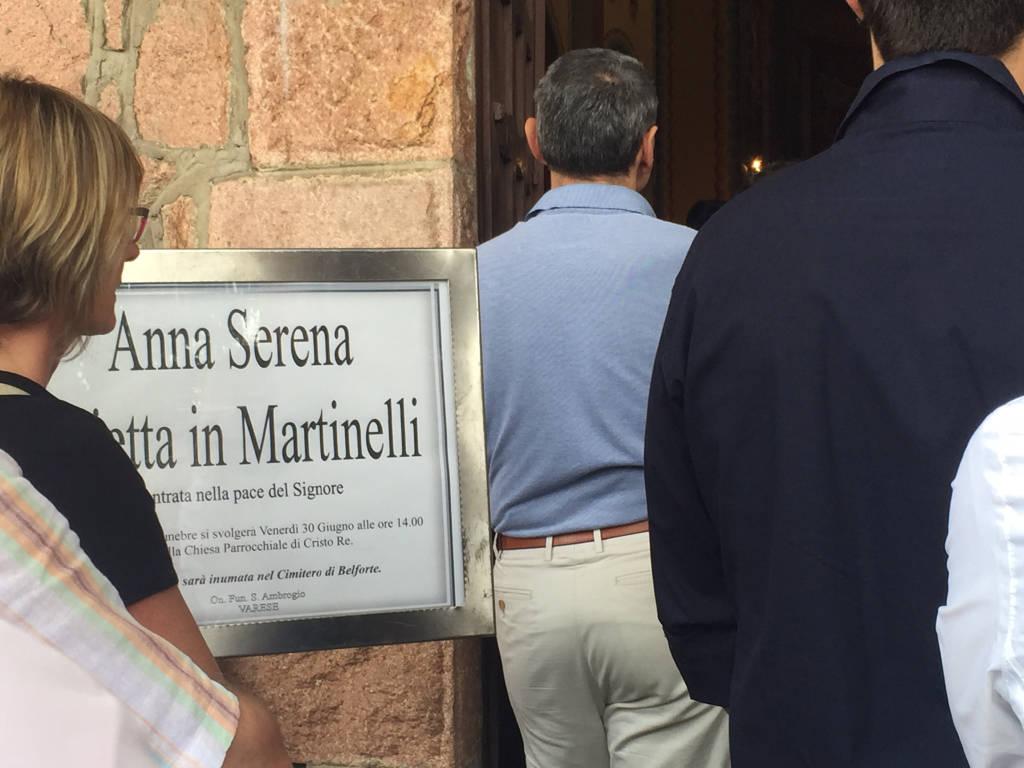 I funerali di Annina Pajetta Martinelli