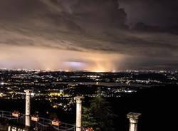 Il temporale dall'alto (foto di Marco Rampinini)