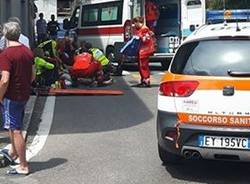 Incidente in via Zara a Tradate