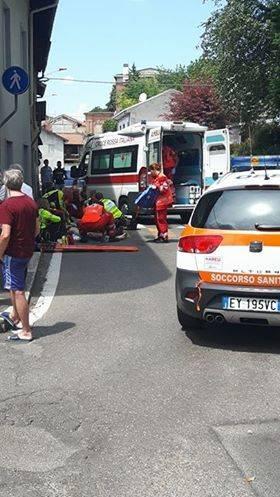 Incidente in via Zara a Tradate