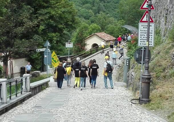 L'ascesa della Coldiretti al Sacro Monte