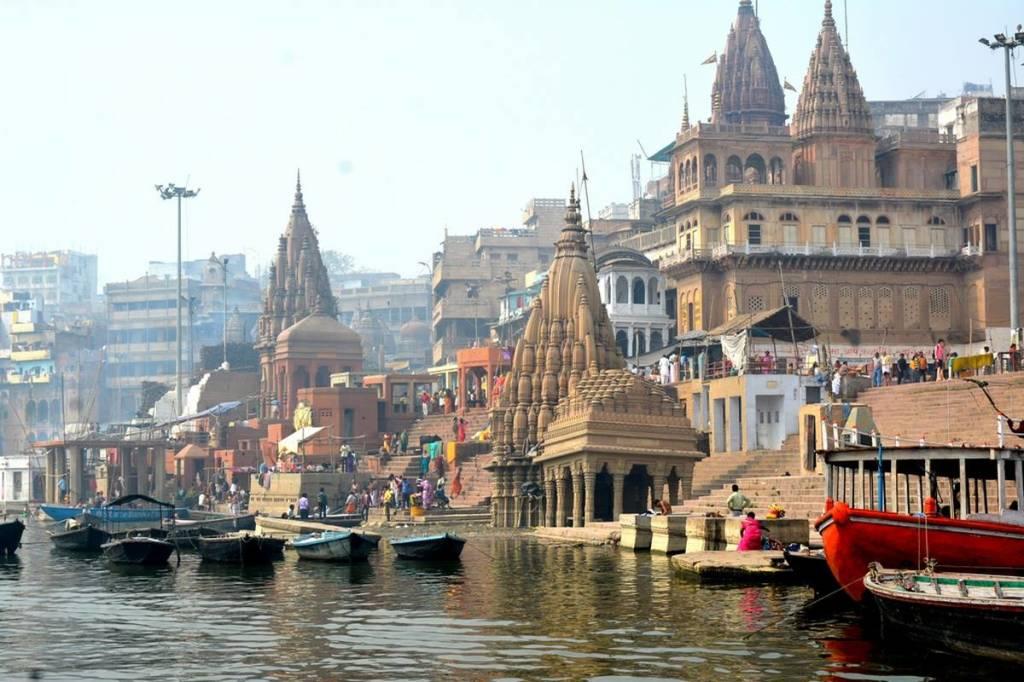 l'India a Calcinate del Pesce
