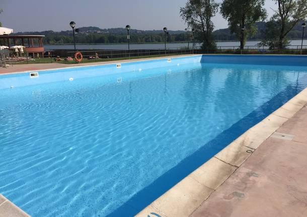 La piscina della Schiranna è pronta per l'estate 2017