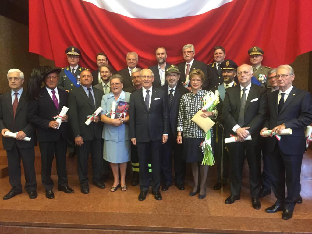 Le onoreficenze Merito della Repubblica 2017