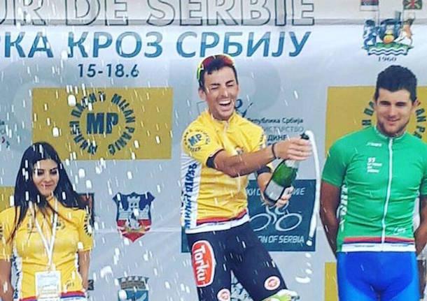 luca chirico ciclismo giro di serbia 2017