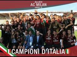 milan campione d'italia under 16