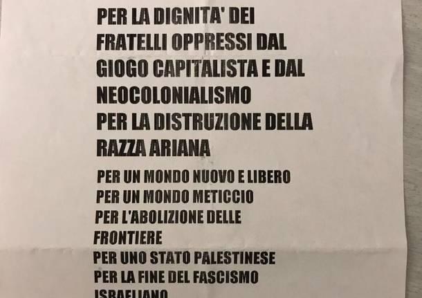 Minacce e proiettili nella sede della Lega Nord di Varese