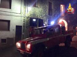 Montegrino Valtravaglia - Incendio a Bosco