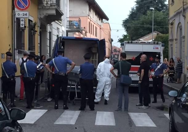 omicidio via goito busto arsizio carabinieri