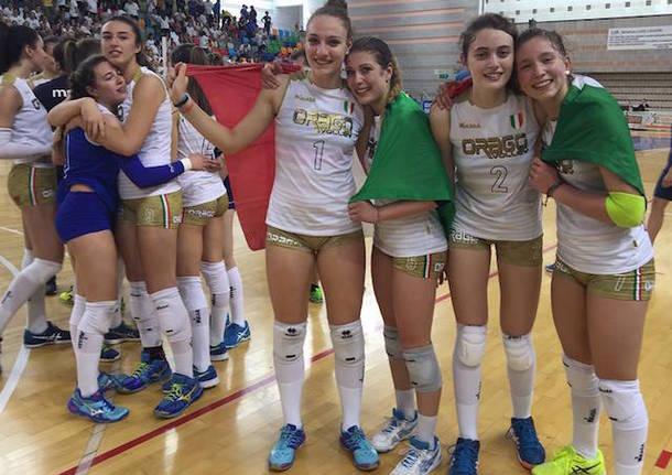 orago under 16 campione d'italia pallavolo 2017