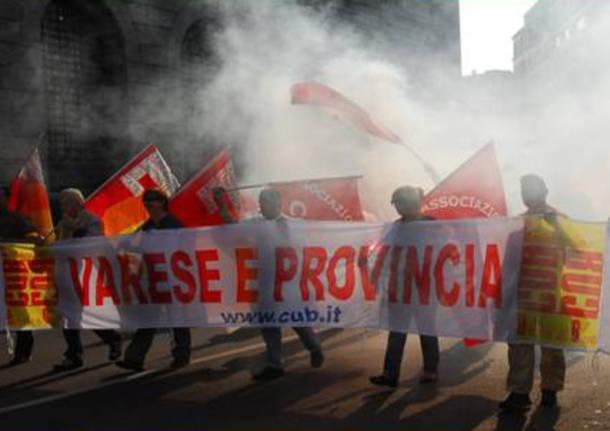 sciopero cub manifestazione