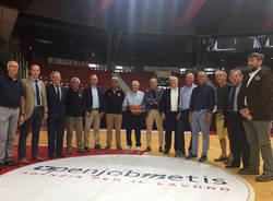 Basket: la presentazione di Gianfranco Ponti