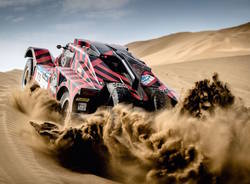 Eugenio Amos al Silk Way Rally