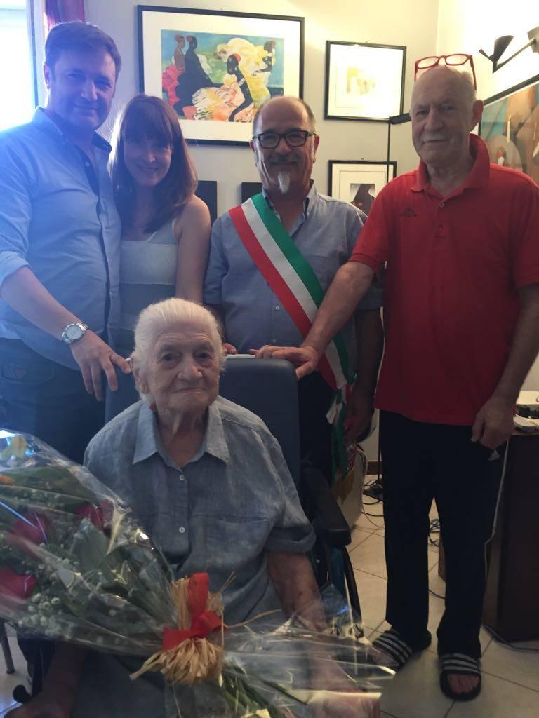 105 anni per Nonna Carlotta