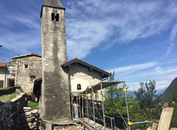 Chiesa San Biagio Cittiglio, la necropoli