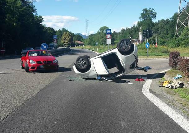 Incidente sulla statale 629