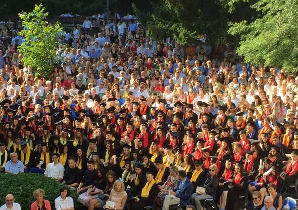 Consegna dei diplomi all'Ite Tosi di Busto Arsizio