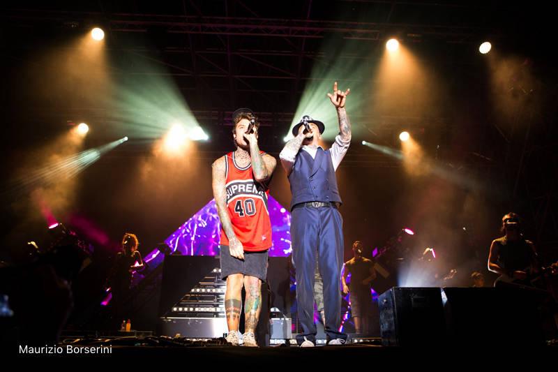 Fedez e Jax in concerto a Legnano