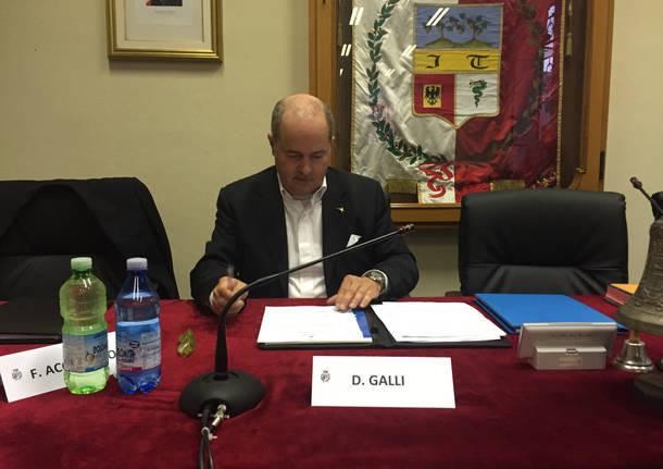 Galli, il consiglio comunale