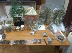 hashish marijuana carabinieri castellanza