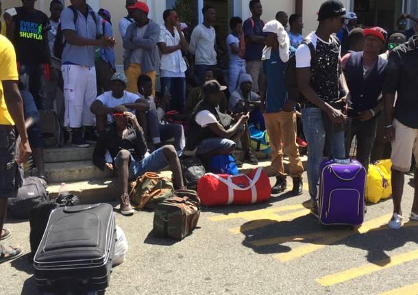 I profughi di Busto Arsizio chiedono udienza in prefettura